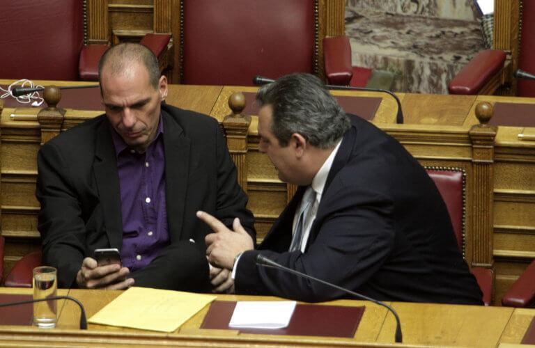 """Βαρουφάκης: Ο Καμμένος υποστήριζε το Grexit – """"Μου έλεγε προχώρα, είμαι μαζί σου"""""""
