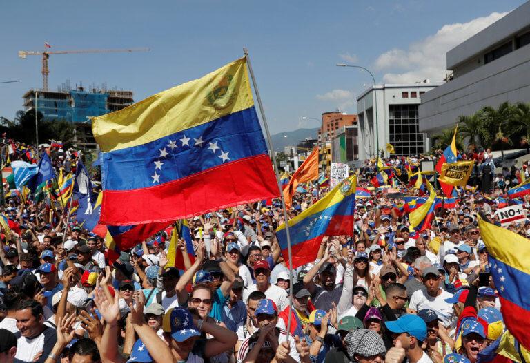 Βενεζουέλα: Το Σάββατο η ανθρωπιστική βοήθεια από τις ΗΠΑ | Newsit.gr
