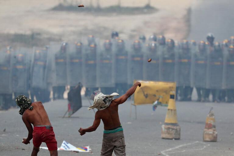 Κατά της στρατιωτικής επέμβασης στη Βενεζουέλα η Ευρωπαϊκή Ένωση | Newsit.gr