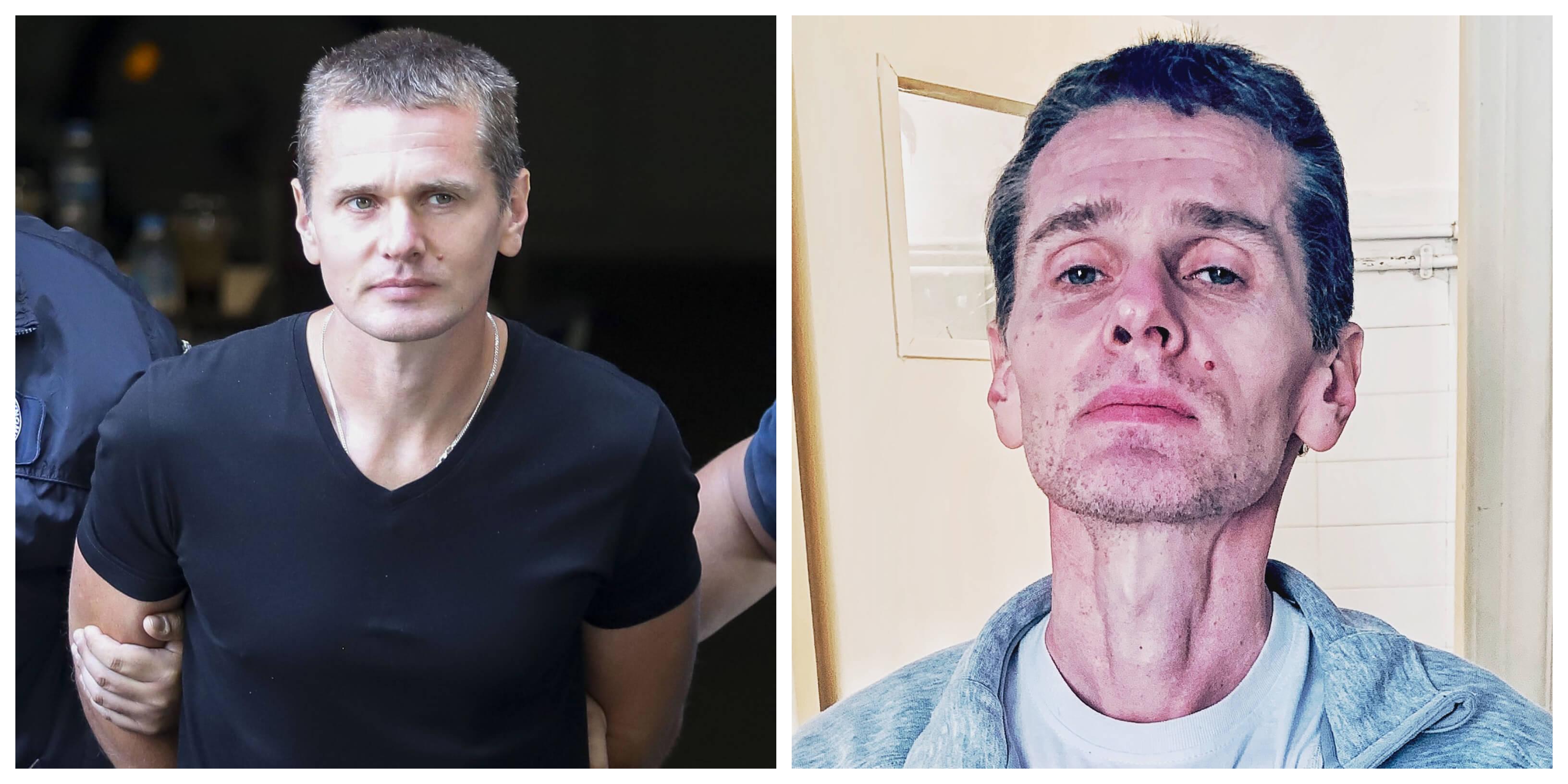 """Σοκαριστικές εικόνες του """"Mr. Bitcoin"""" μέσα από την φυλακή – 90 μέρες σε απεργία πείνας – video"""