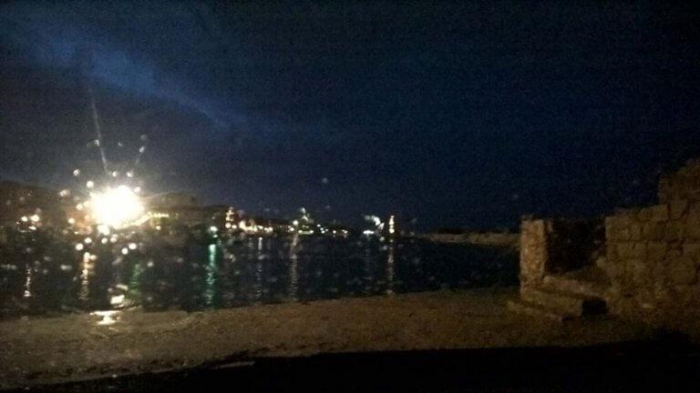 Η κακοκαιρία έφτασε στην Κρήτη με κεραυνούς και χαλάζι – video