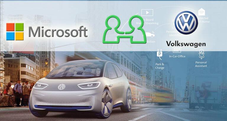 Η Volkswagen επεκτείνει τη συνεργασία της με τη Microsoft