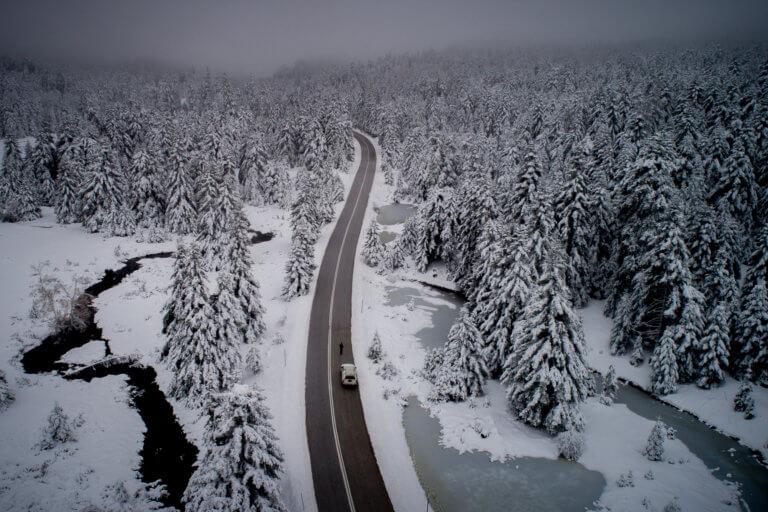 Τρίκαλα: Βροχιές και χιόνια στα ορεινά – Μάχη για να μείνουν ανοιχτοί οι δρόμοι!   Newsit.gr