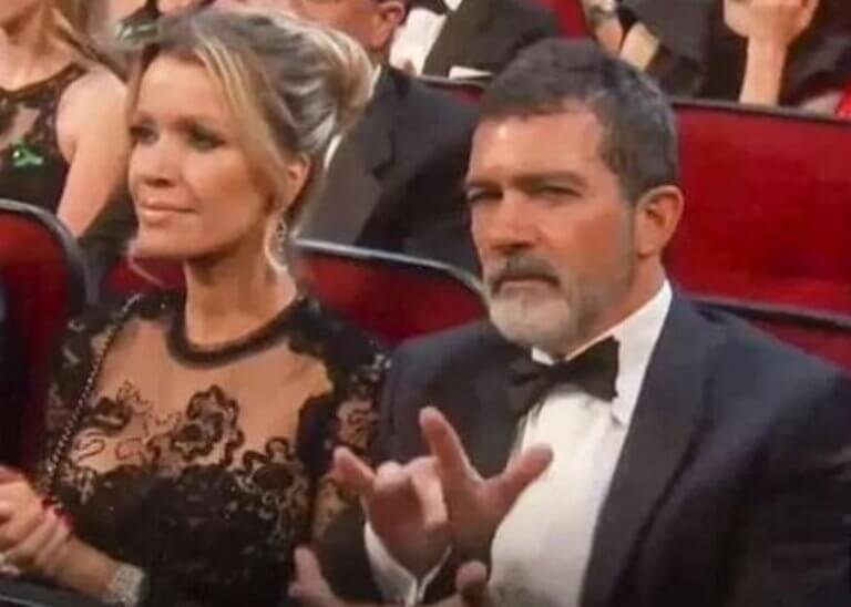 Antonio Banderas: Χαμός με το… περίεργο χειροκρότημά του στα Εmmy's! video