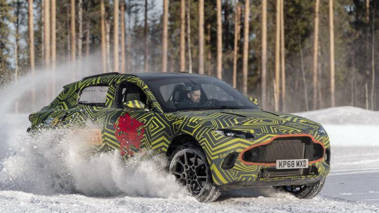 Δοκιμές σε ακραίες συνθήκες για την Aston Martin DBX [vid]
