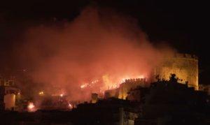 105 χρόνια Άρης: Έβαλαν… φωτιά στη νύχτα οι οπαδοί! video