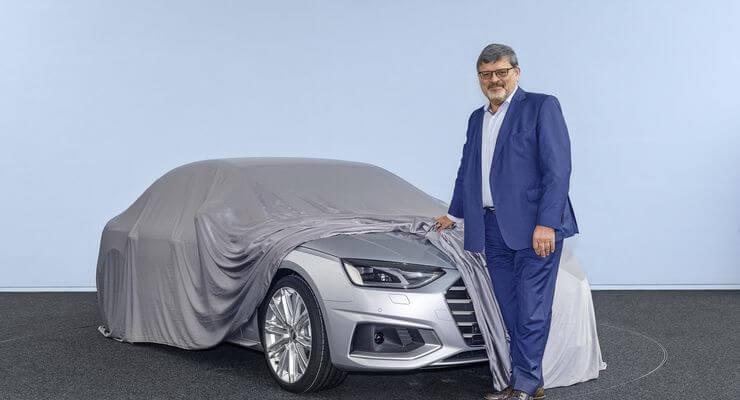 Μια πρόγευση από το νέο Audi A4