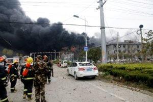 Κίνα: Νεκροί και τραυματίες στην τρομερή έκρηξη που προκάλεσε σεισμό! – video