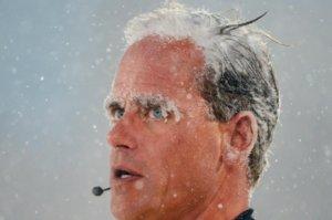 «Παγωμένος» διαιτητής! Συγκλονιστική εικόνα σε ποδοσφαιρικό αγώνα – video, pic