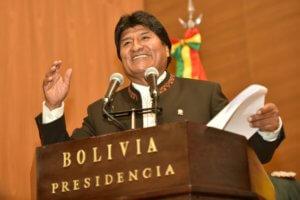 Στην Αθήνα ο πρόεδρος της Βολιβίας, Έβο Μοράλες