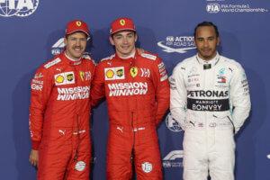 F1: «Κόκκινη» η pole position στο Μπαχρέιν! Εντυπωσίασαν οι Ferrari