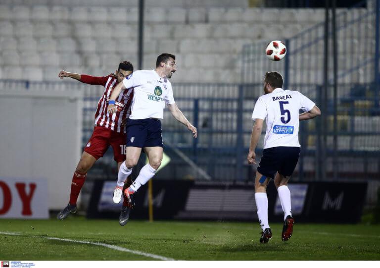 Απόλλων Σμύρνης – Ολυμπιακός 0-2 ΤΕΛΙΚΟ