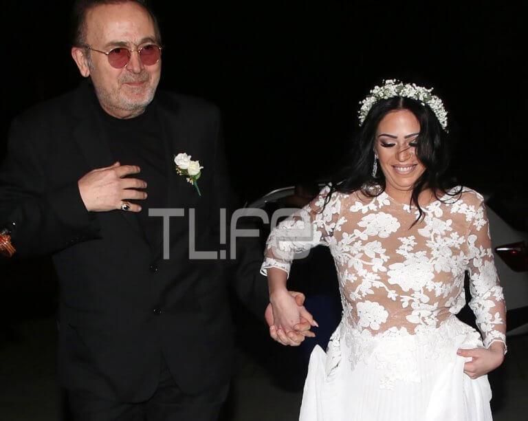 Σταμάτης Γονίδης: Το άλμπουμ του γάμου της εγκυμονούσας κόρης του Στεφανίας με τον αγαπημένο της! [pics]