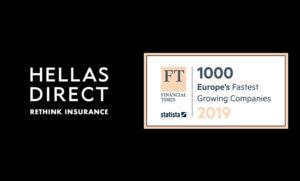 Η Hellas Direct στη λίστα FT 1000 των Financial Times με τις ταχύτερα αναπτυσσόμενες εταιρίες στην Ευρώπη
