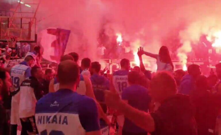 Η Νίκαια «κάηκε»! Ο Ιωνικός επέστρεψε στα… σαλόνια της Basket League – video