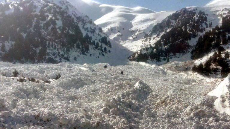 Κρήτη: Έπεσε χιονοστιβάδα στον Αποκόρωνα – video