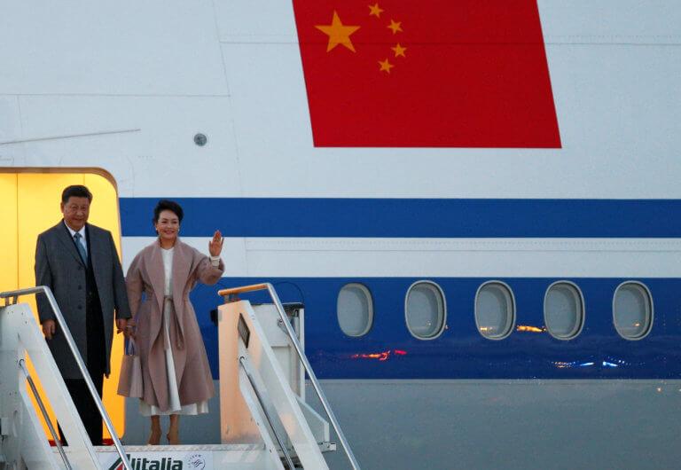 Στην Ιταλία για τριήμερη επίσκεψη ο Πρόεδρος της Κίνας