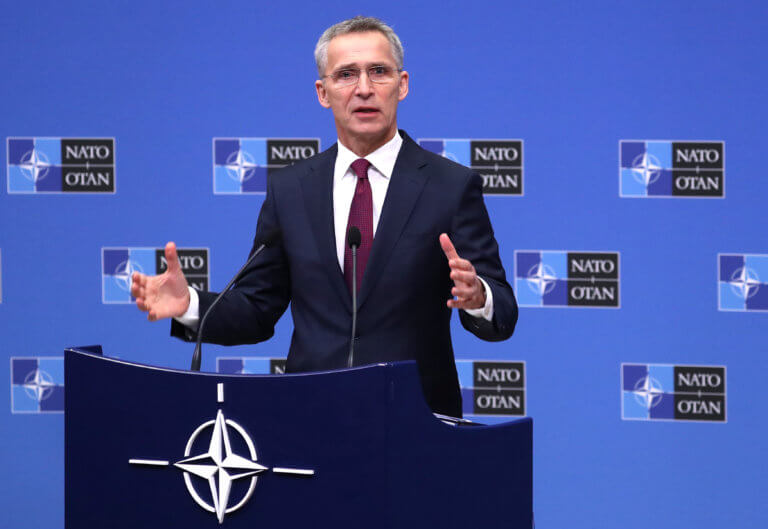 """Ο Στόλτενμπεργκ εξακολουθεί να θεωρεί """"επιτυχία"""" τον ΝΑΤΟϊκό χειρισμό στην Ανατολική Μεσόγειο"""