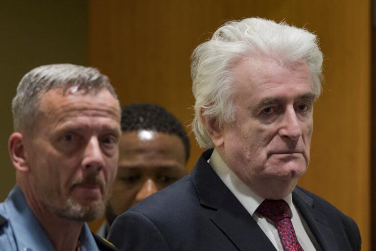 Έφεση κατά της καταδίκης του σε ισόβια άσκησε ο Ράντοβαν Κάρατζιτς