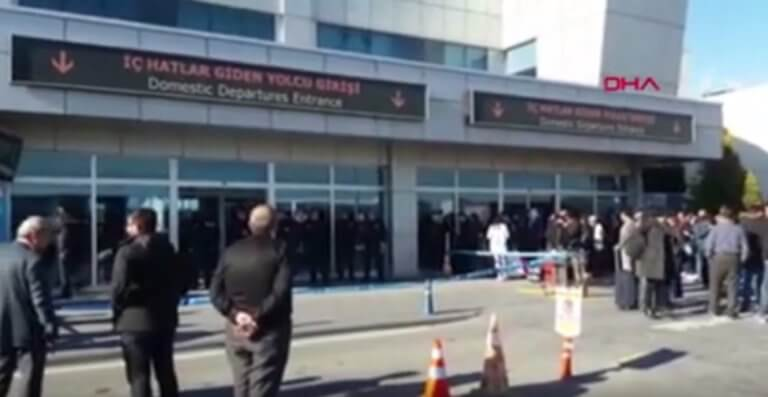 Πυροβολισμοί στο αεροδρόμιο της Καισάρειας!