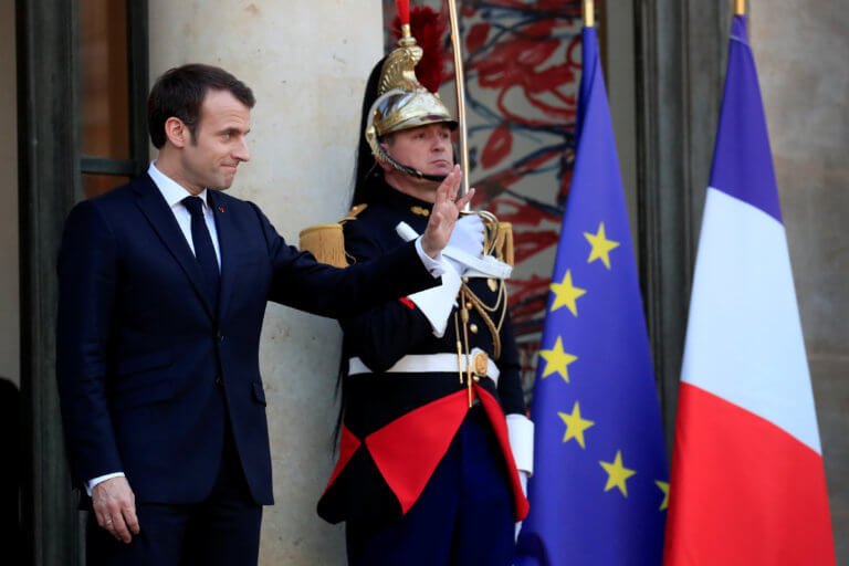 «Μανιφέστο» Μακρόν ενόψει ευρωεκλογών κόντρα στον εθνικισμό | Newsit.gr