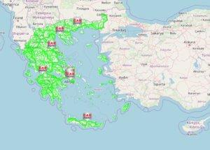 Καιρός: Νέα υπηρεσία του Meteo – Ενημερώνει για τις καιρικές συνθήκες σε όλο το οδικό δίκτυο!