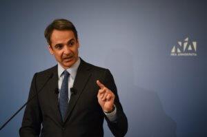 """Εκλογές 2019: """"Ήλθε η ώρα να φύγει η ανίκανη κυβέρνηση"""" είπε ο Μητσοτάκης από τη Λέσβο"""