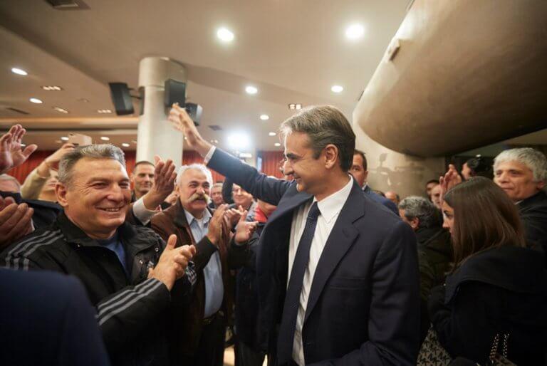 Ευρωεκλογές 2019: Δεν υπάρχει χαλαρή ψήφος, διαμήνυσε από τη Θράκη ο Μητσοτάκης!