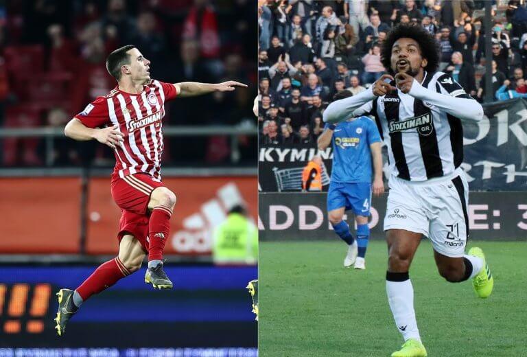 "Superleague: ""Μονομαχία"" μεταξύ Ολυμπιακού και ΠΑΟΚ για την καλύτερη επίθεση"