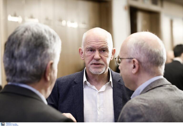 Ευρωεκλογές 2019: ΣΥΡΙΖΑ και ΝΔ οι δύο όψεις της ίδιας συντήρησης, λέει ο Γ. Παπανδρέου