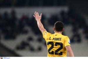 AEK: Χωρίς Πόνσε με Παναιτωλικό! Χάνει το ματς ο Αργεντινός