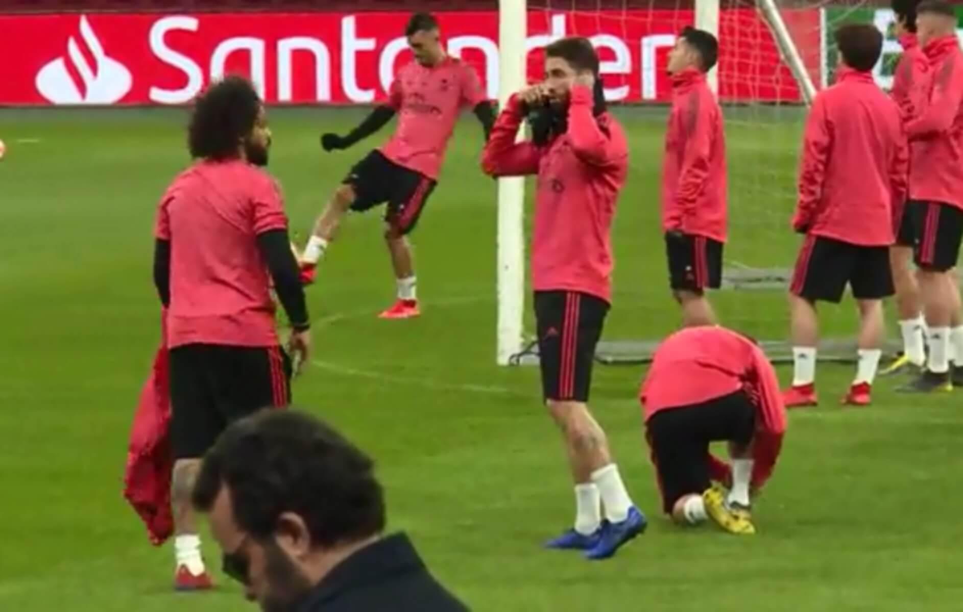 """""""Θερμό"""" επεισόδιο στην προπόνηση της Ρεάλ Μαδρίτης!"""