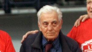 Ο Ολυμπιακός για το θάνατο του Σπανουδάκη: «Έφυγε ο μεγάλος αρχηγός»