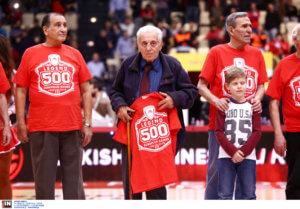 Βετεράνοι Ολυμπιακού για τον Σπανουδάκη: «Αντίο πρώτε των πρώτων! Αθάνατος»