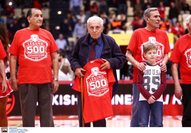 """Βετεράνοι Ολυμπιακού για τον Σπανουδάκη: """"Αντίο πρώτε των πρώτων! Αθάνατος"""""""