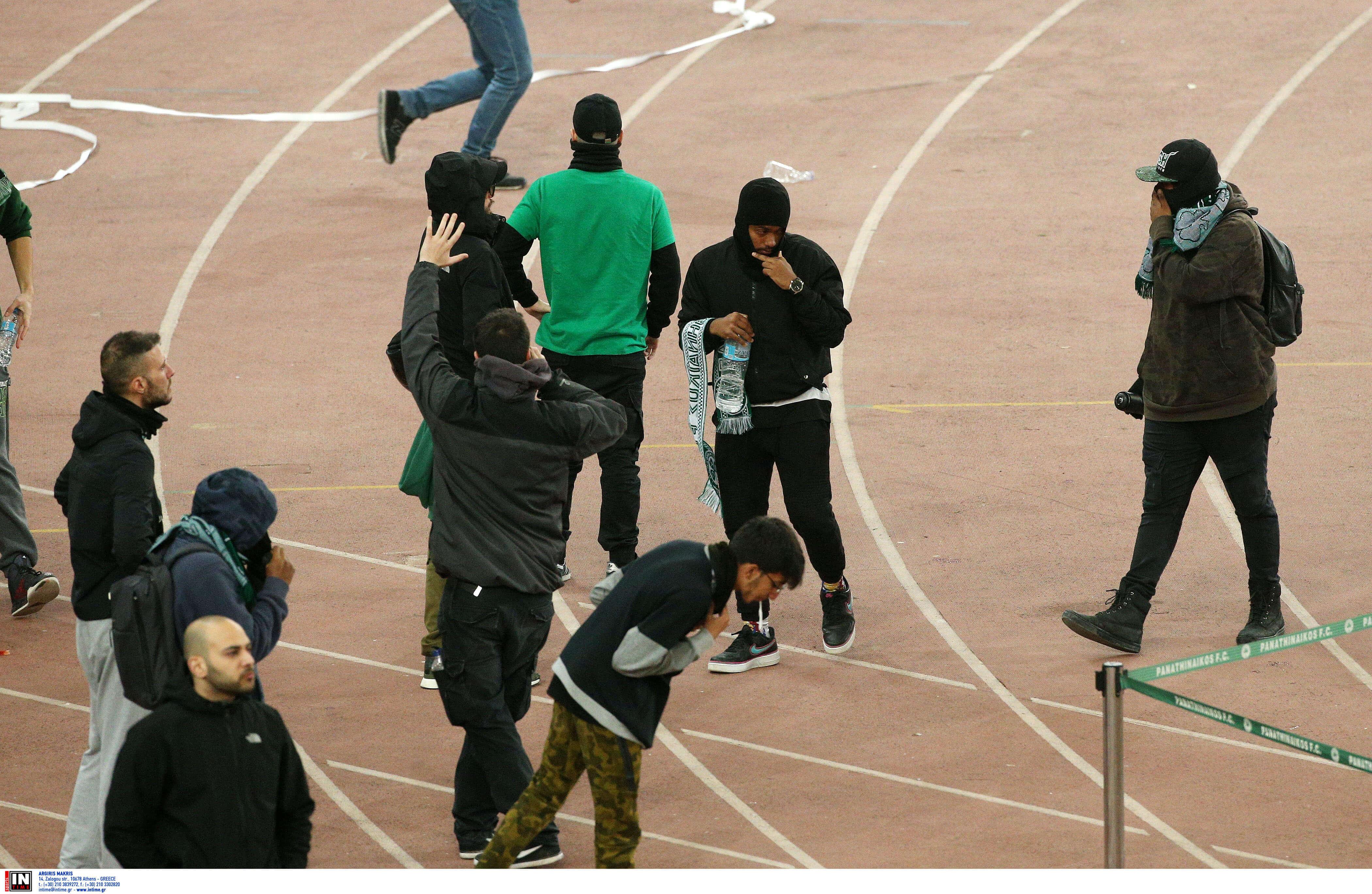 """Επεισόδια στο ΟΑΚΑ: 5 ανήλικοι στους συλληφθέντες με """"λευκό"""" μητρώο"""