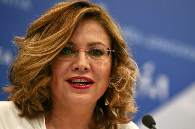 Στο ευρωψηφοδέλτιο η Σπυράκη – Αποχωρεί από τη θέση της εκπροσώπου Τύπου της ΝΔ