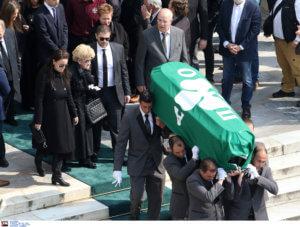 Κηδεία Θανάση Γιαννακόπουλου: Φίλοι και «εχθροί» είπαν το… στερνό αντίο στον «Τυφώνα»! videos, pics