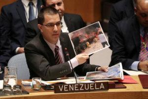 Βενεζουέλα - Ο ΥΠΕΞ