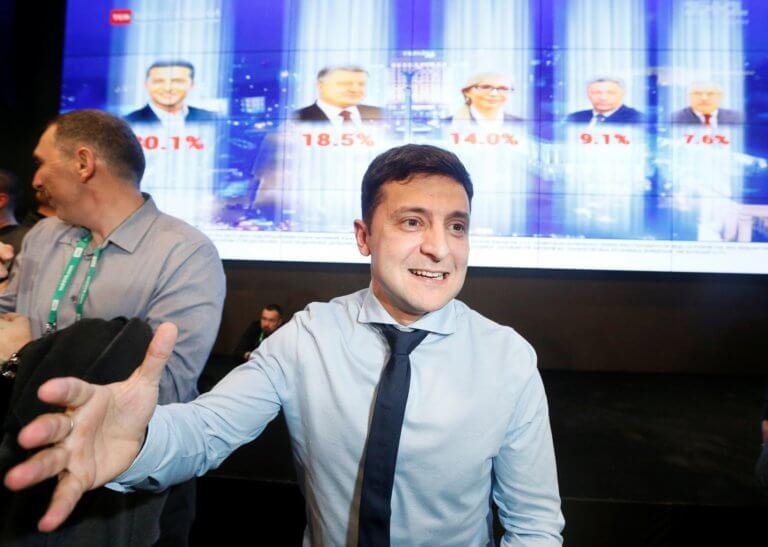 Ουκρανία: Ένας κωμικός κέρδισε στον 1ο γύρο των προεδρικών εκλογών!