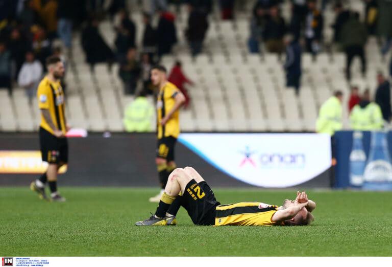 """ΑΕΚ – Παναθηναϊκός: """"Κράξιμο"""" στους παίκτες στο τέλος του αγώνα!"""