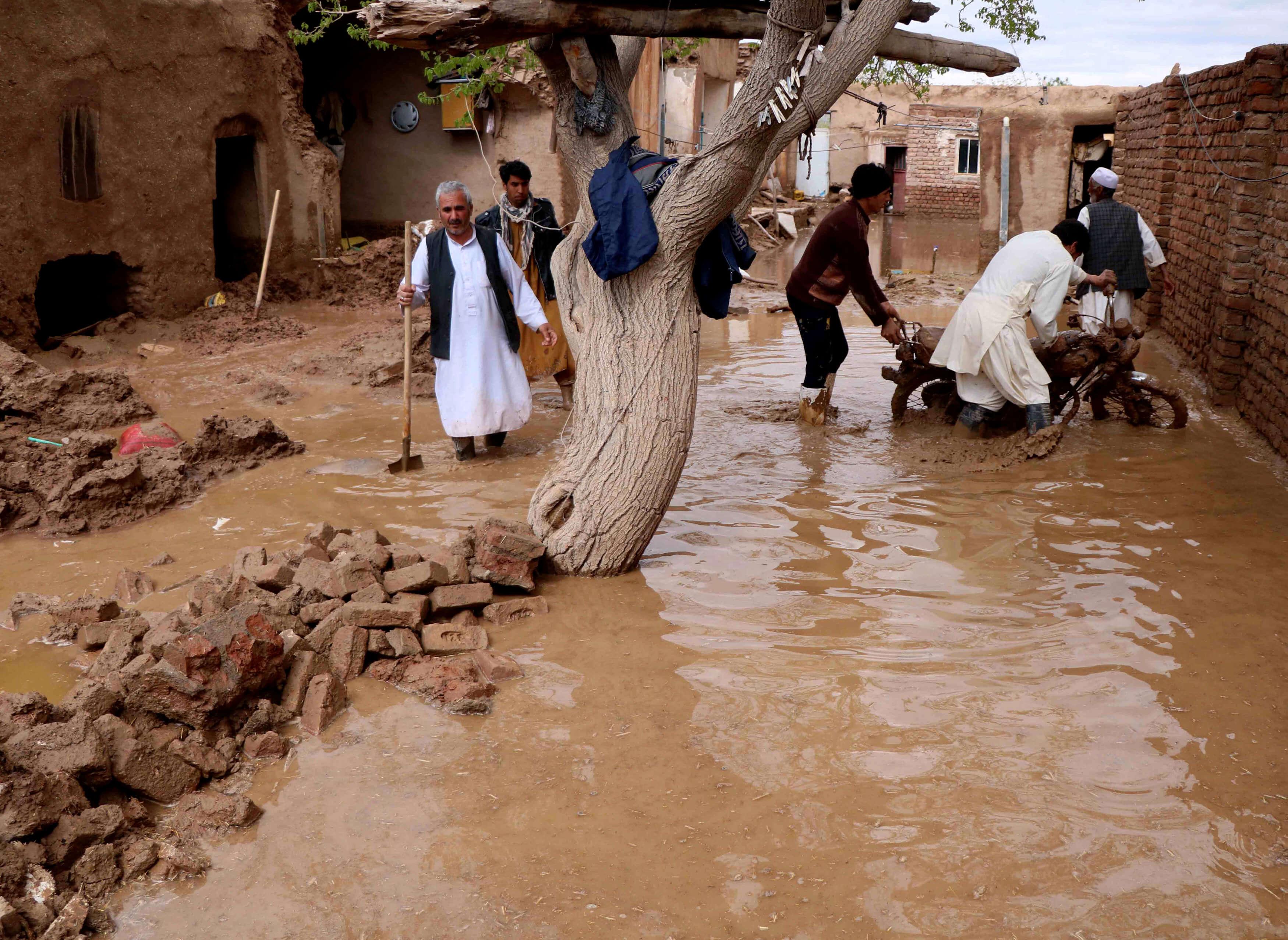 Αφγανιστάν: 35 οι νεκροί από τις καταστροφικές πλημμύρες