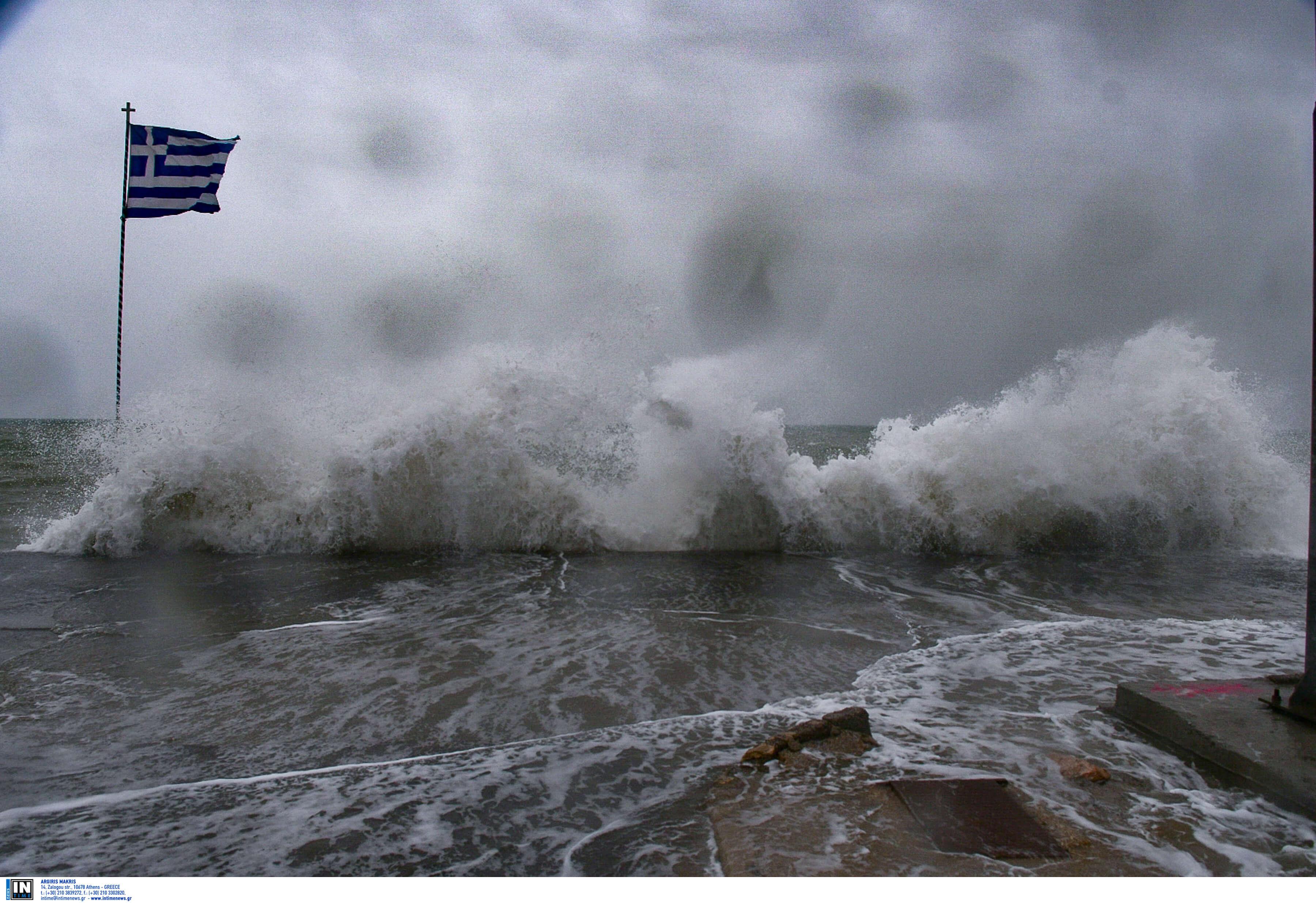 Καιρός - Θυελλώδεις άνεμοι