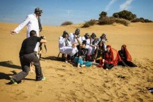 Με Άραβες και χανούμισσες γέμισαν οι Αμμοθίνες Λήμνου