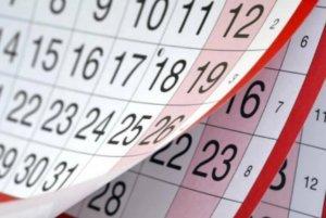 Πρωτομαγιά 2019 και όλες οι αργίες και τα τριήμερα