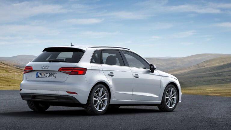 Η Audi αναβαθμίζει το A3 Sportback g-tron