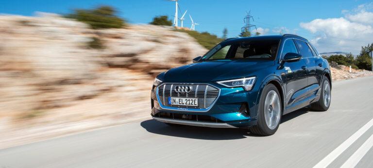 Δοκιμάζουμε το ηλεκτρικό Audi e-tron στην Ελλάδα [pics]