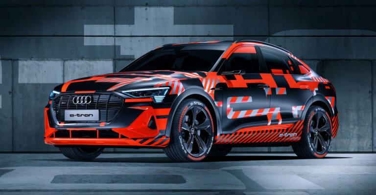 Η Audi δοκιμάζει το ηλεκτρικό e-tron Sportback στους πάγους [vid]
