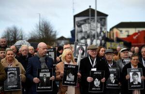 «Σίφουνες» στην Ιρλανδία – Απήγγειλαν κατηγορίες για την «Ματωμένη Κυριακή»… 47 χρόνια μετά