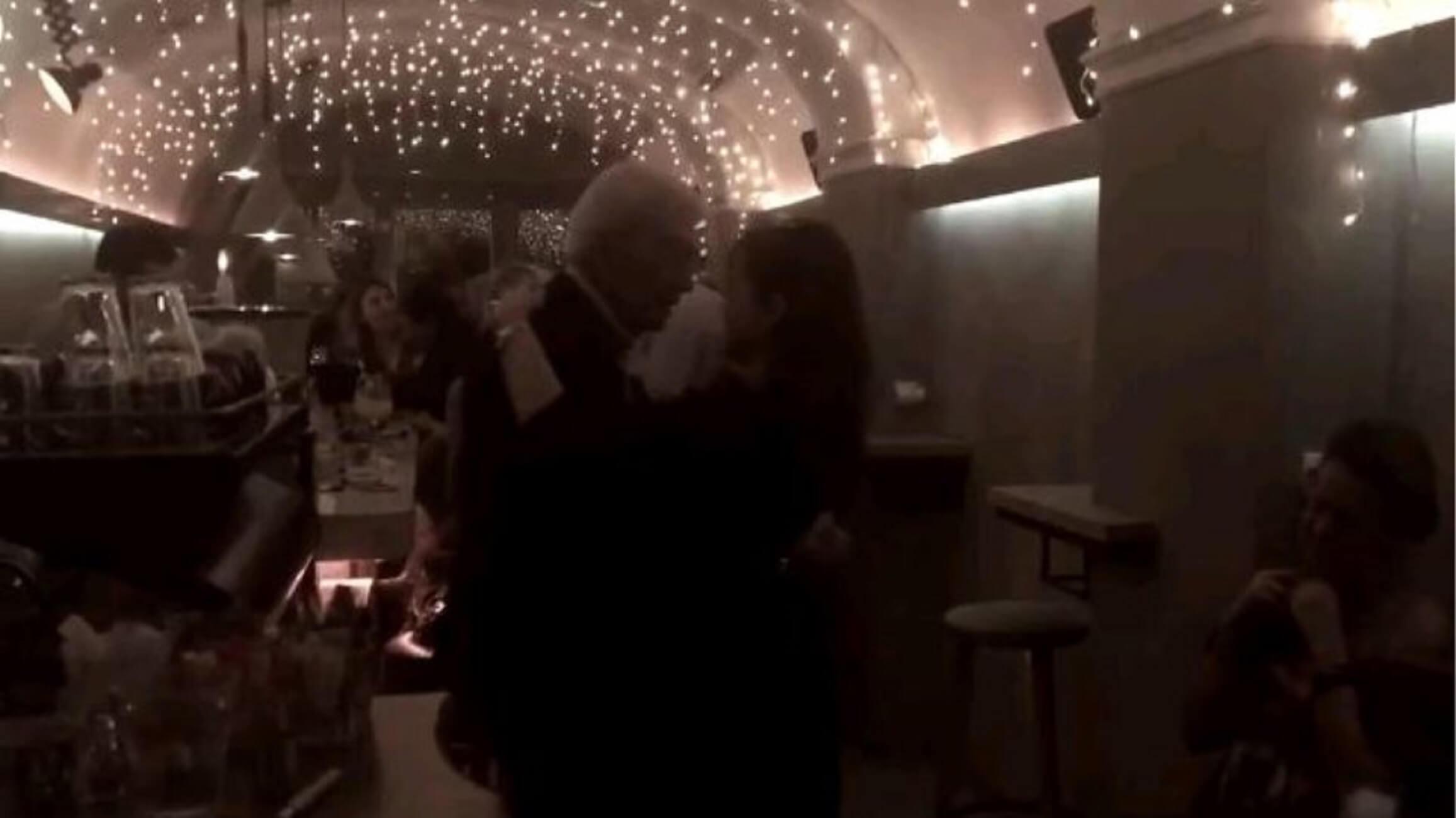 Ο χορός του Μπουτάρη με τη σύντροφό του για την Ημέρα της Γυναίκας – video